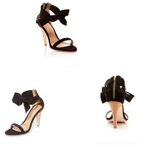 Ulla Johnson Suede Leather Thecia High Heels $425